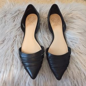 Women's Vince Camuto leather flats, size 9.5